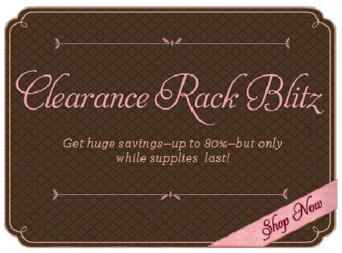 2012 Clearance Rack blitz