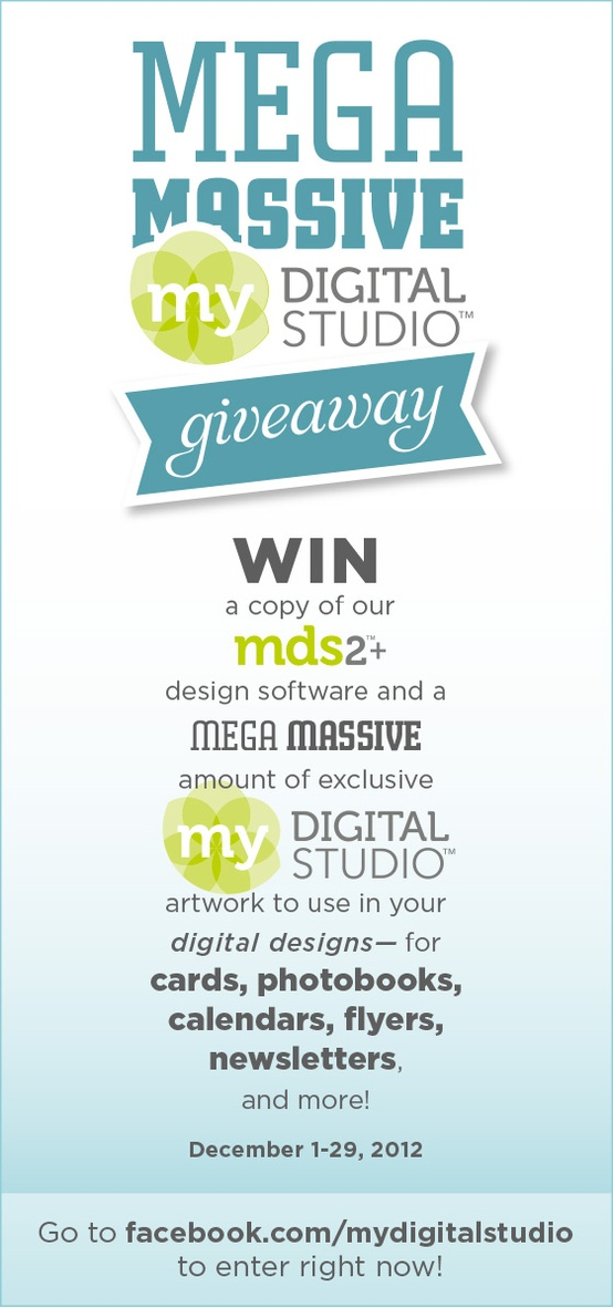 mds giveaway