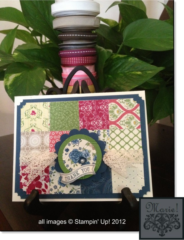 Quilted Card Large