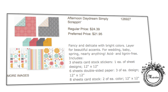 su afternoon daydream simply scrappin kit