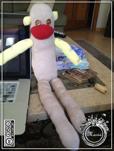 psl spud sock monkey